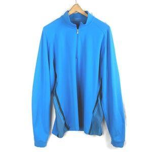 Nike Golf 1/4 Zip Top Mens XL Pullover Long Sleeve